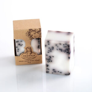 סבון גרגירים עם שומשום שחור לפילינג עדין