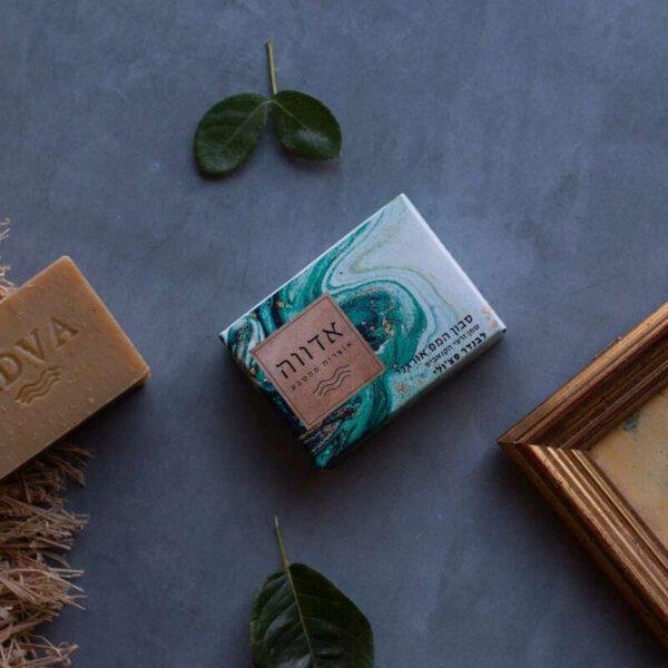 סבון המפ אורגני משמן זרעי הקנאביס, לבנדר ופצ'ולי
